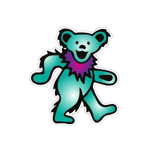 Sticker Nounours Bleu