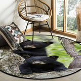 Tapis Ours Noir