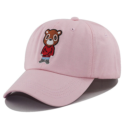 Casquette Ours Rose