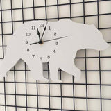Horloge Ours <br> Blanc comme Neige