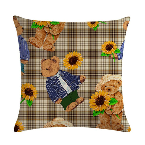 Coussin Tournesol