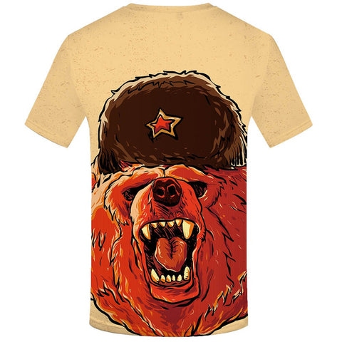 T-Shirt Russe Homme