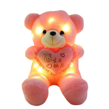 Peluche Ours Lumineux Led
