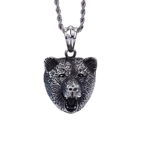 Collier Tête d'Ours