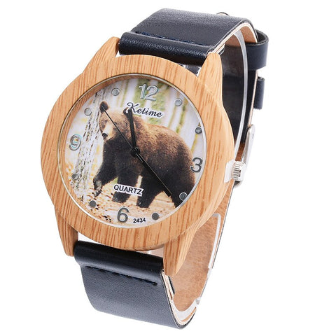 Montre Ours Brun