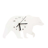 Horloge Ours Blanc