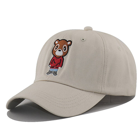 Casquette Ours Beige