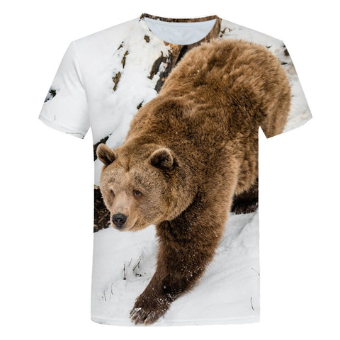 T-Shirt Ours Chasseur