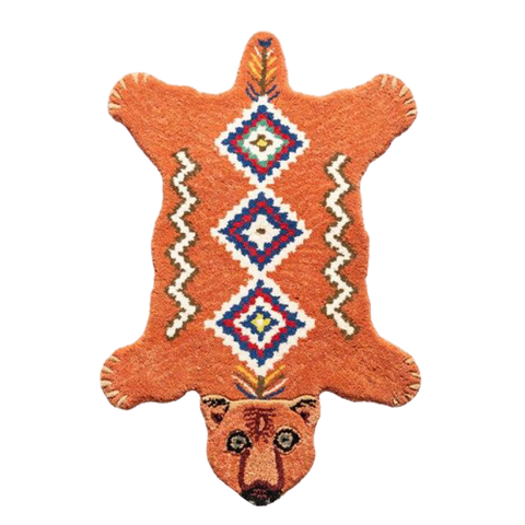 Tapis Ours <br> Totem Indien