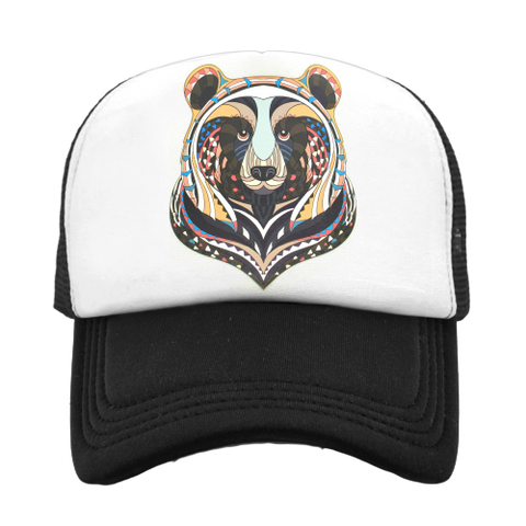 Casquette Ours <br> Rituel Indien