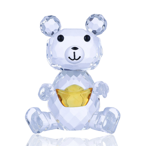 Figurine Ourson verre | Ours-Shop.fr