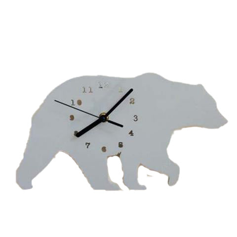 Horloge Ours Grise