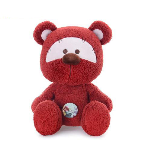 Peluche Ours Rouge