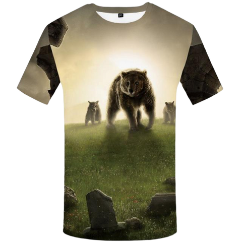T-Shirt Famille Ours | Ours-Shop.fr