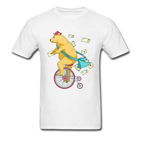 T-Shirt Monocycle | Ours-Shop.fr