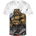 T-Shirt Ours avec Muscles | Ours-Shop.fr