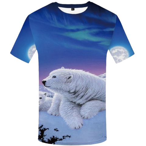 T-Shirt Ours Blanc | Ours-Shop.fr