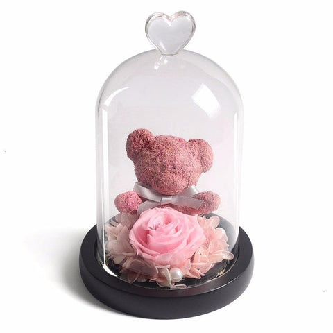 Veilleuse Ourson Rose | Ours-Shop.fr