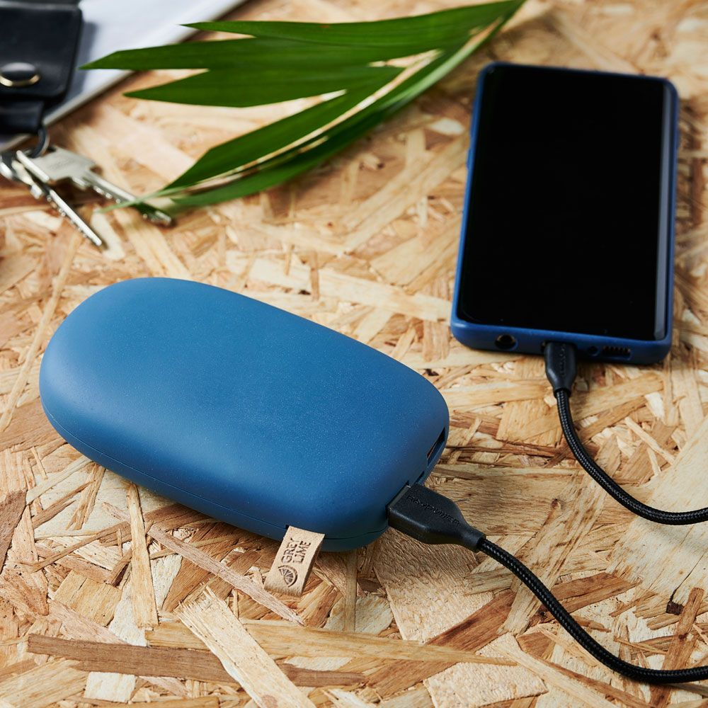 GreyLime Power Stone II 10400 mAh Powerbank Blå