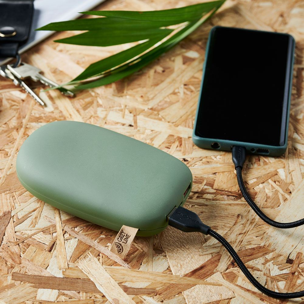GreyLime Power Stone II 10400 mAh Powerbank Grøn