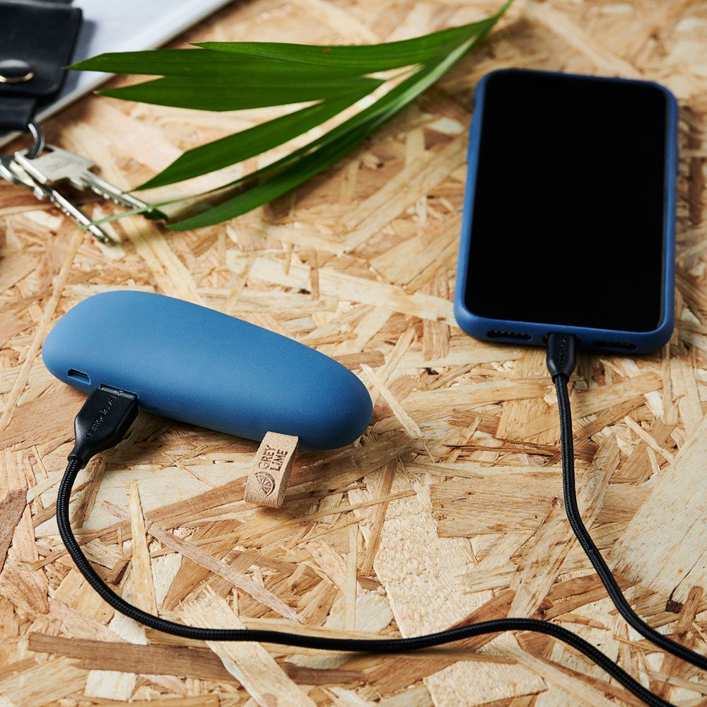 GreyLime Power Stone ll 2600 mAh Powerbank Blå