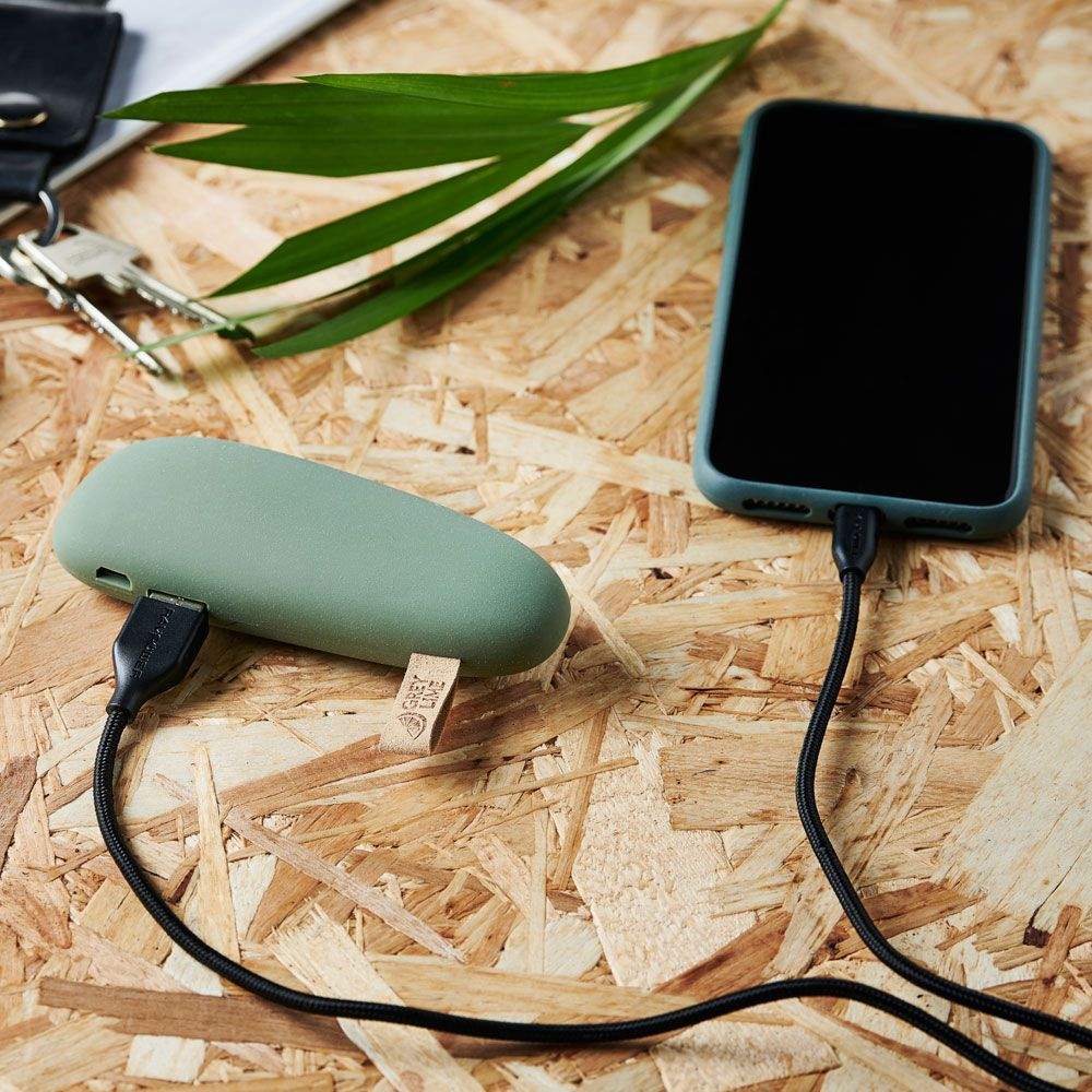 GreyLime Power Stone ll 2600 mAh Powerbank Grøn