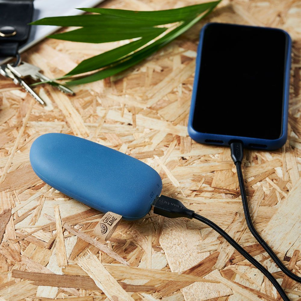 GreyLime Power Stone ll 5200 mAh Powerbank Blå