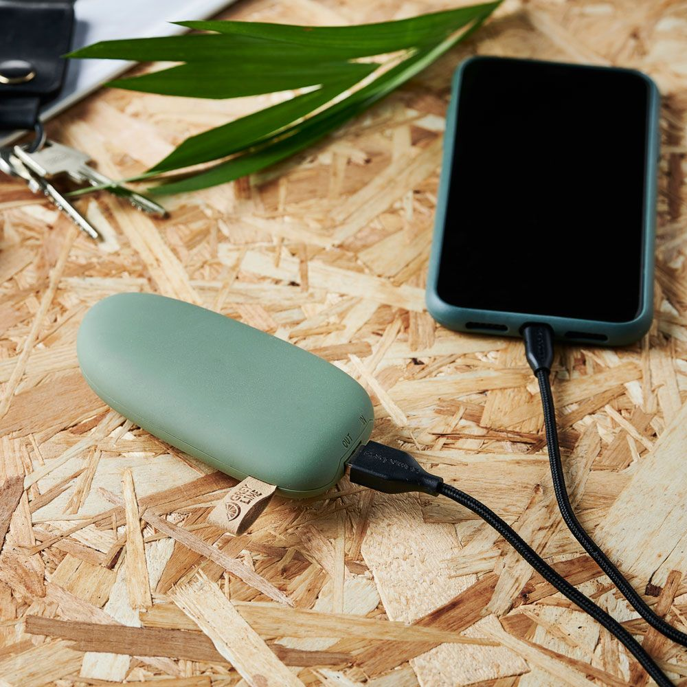 GreyLime Power Stone ll 5200 mAh Powerbank Grøn