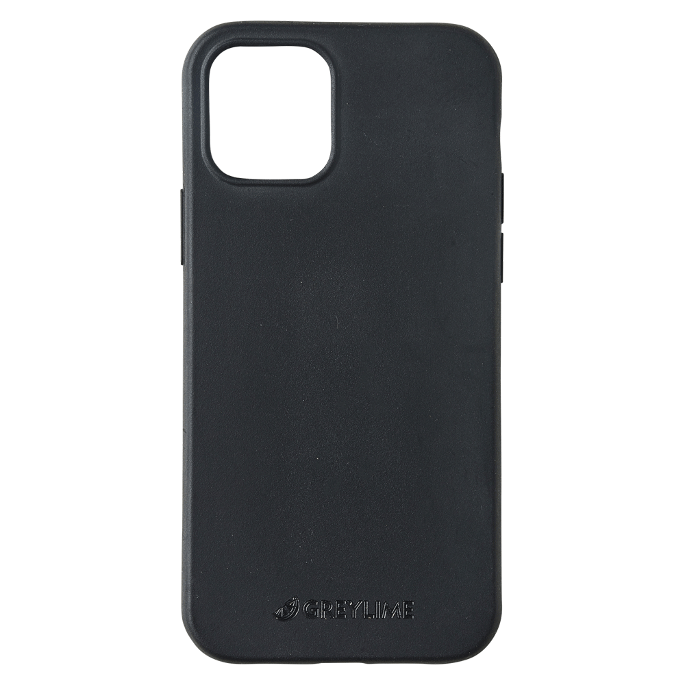 GreyLime iPhone 12/12 Pro Mljøvenligt Cover, Sort