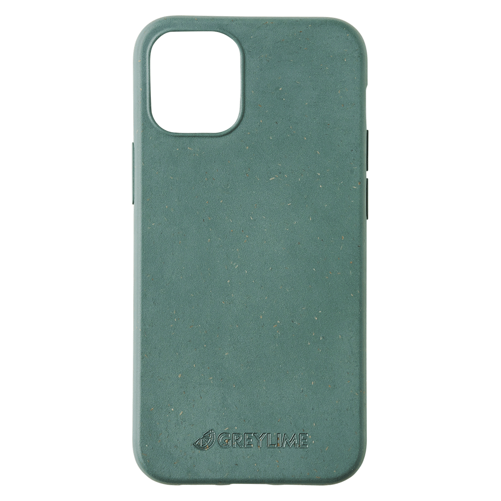 GreyLime iPhone 12 Mini Mljøvenligt Cover, Mørkegrøn