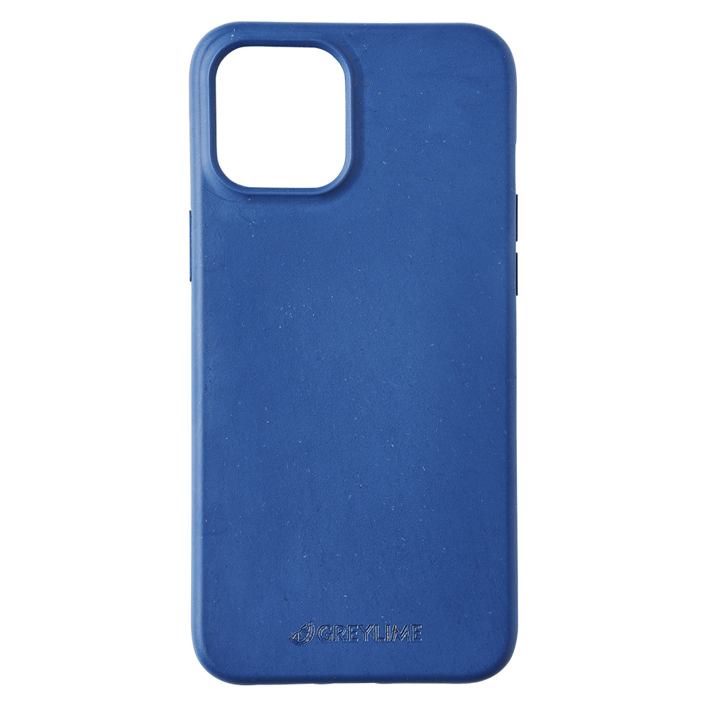 GreyLime iPhone 12 Pro Max Mljøvenligt Cover, Marineblå