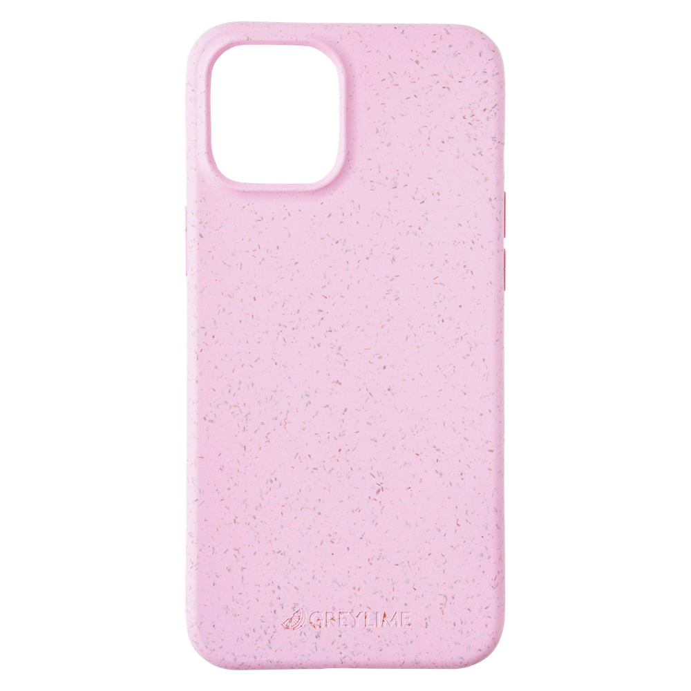 GreyLime iPhone 12 Pro Max Mljøvenligt Cover, Pink