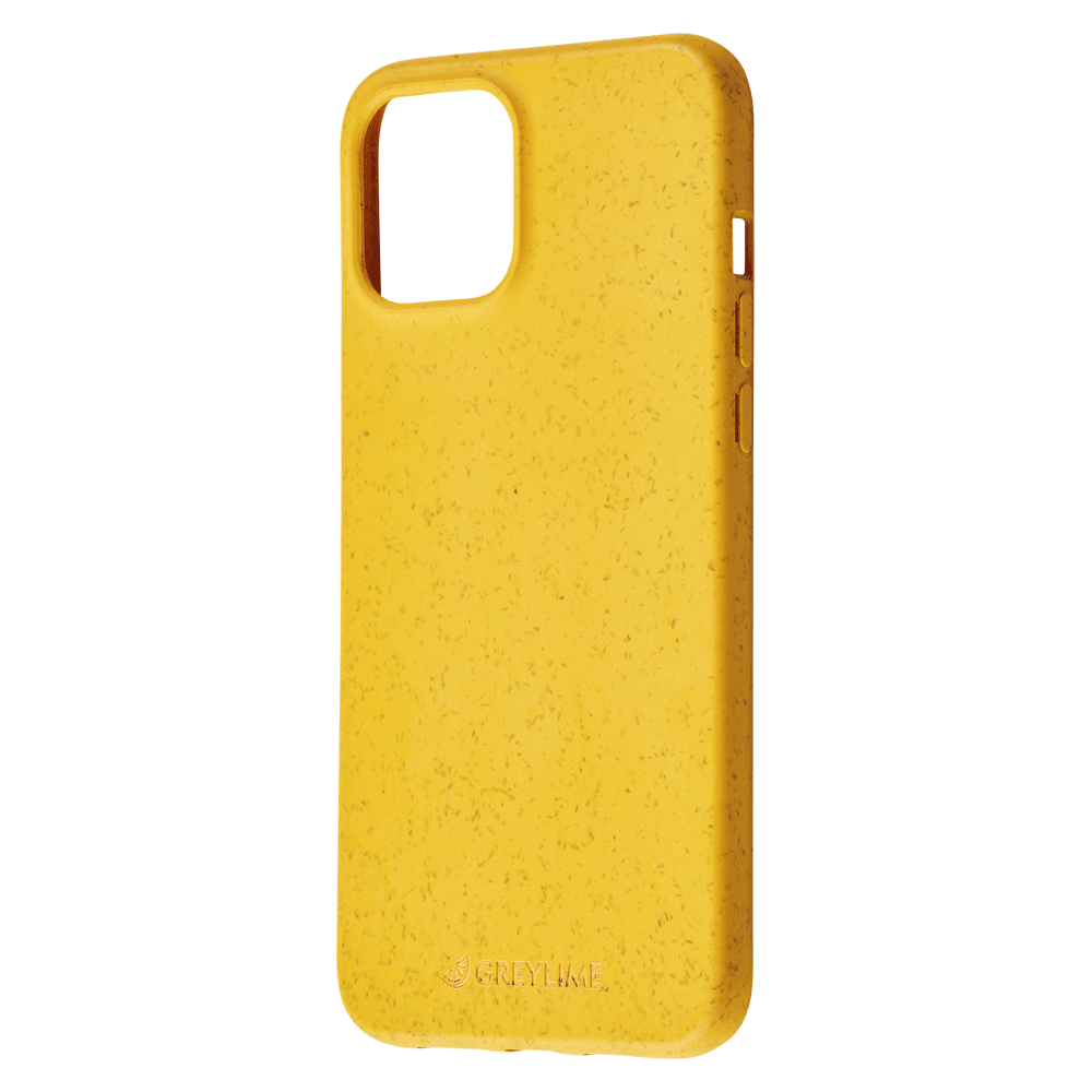 GreyLime iPhone 12 Pro Max Mljøvenligt Cover, Gul