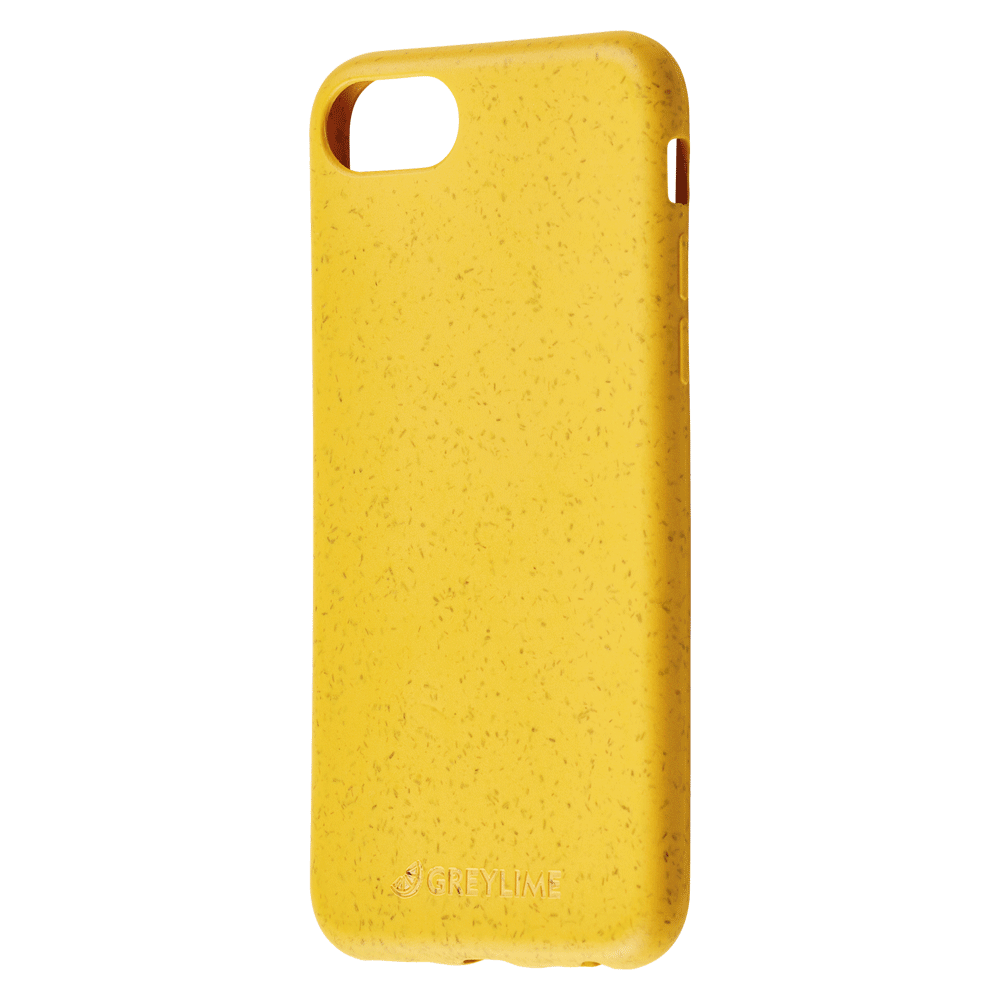 GreyLime iPhone 6/7/8/SE Mljøvenligt Cover, Gul