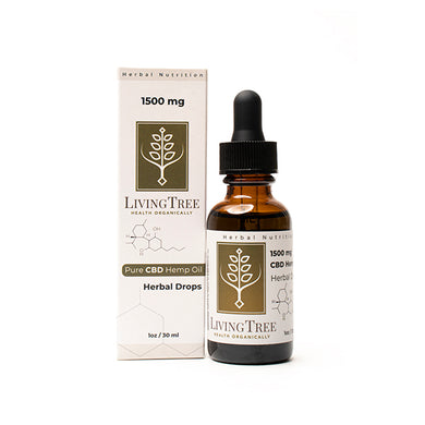 CBD Oil - 1oz/30ml - Natural