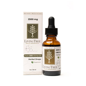 CBD Oil - 1oz/30ml - Peppermint