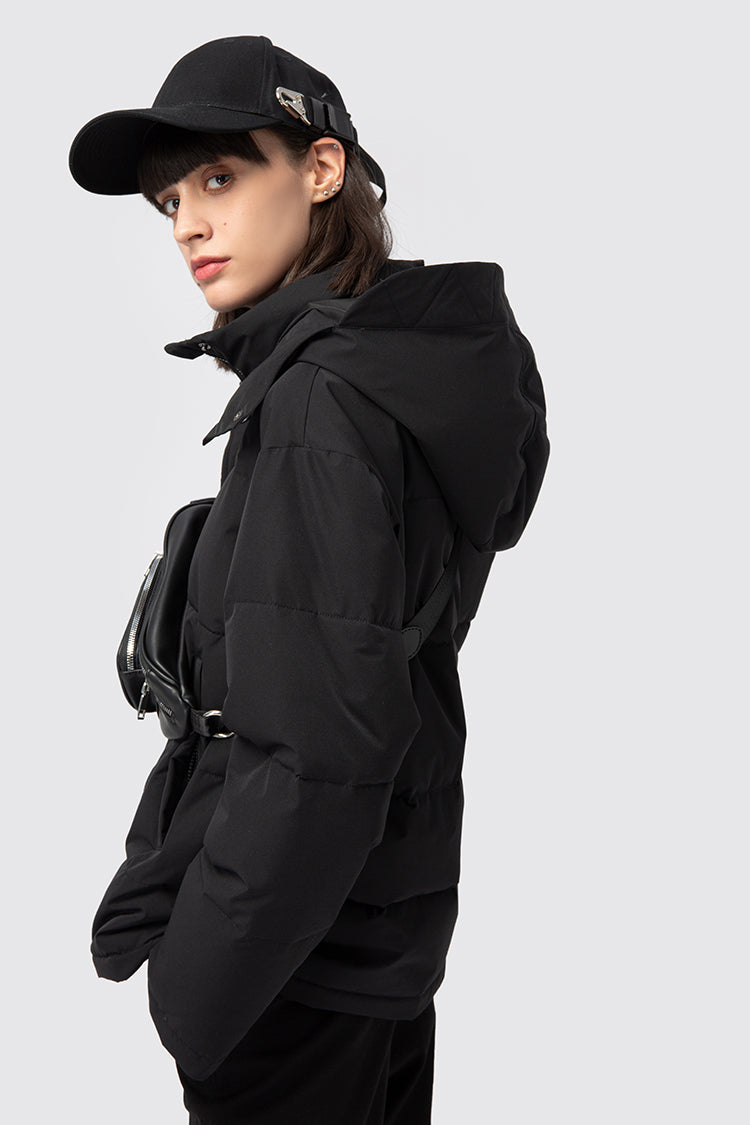 Functional Black Padded Jacket