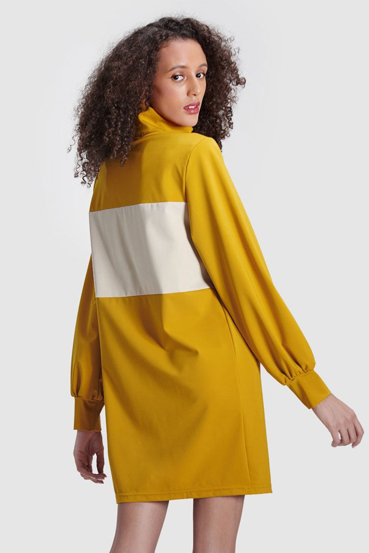 Sport Color Block Dress