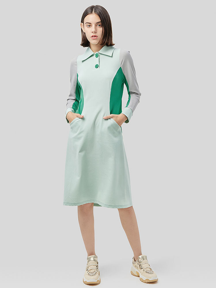 Long-sleeved Sport Dress