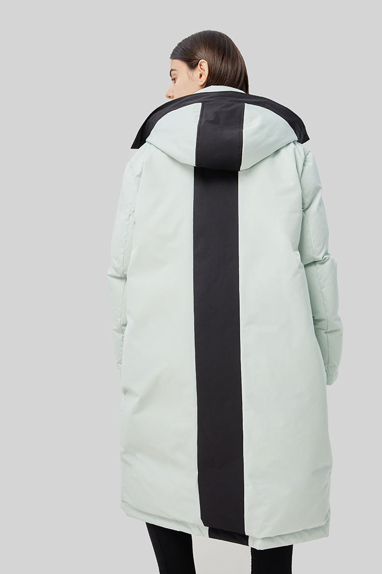 Women's Outdoor Multi-Functional Long Down Jacket