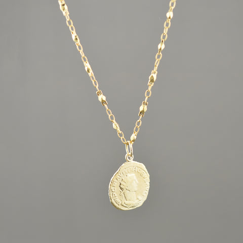 Zoe Coin Necklace