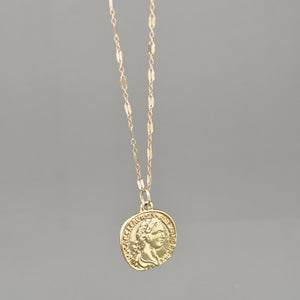 Louie Coin Necklace
