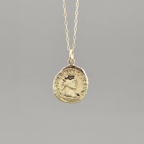 Glenn Coin Necklace