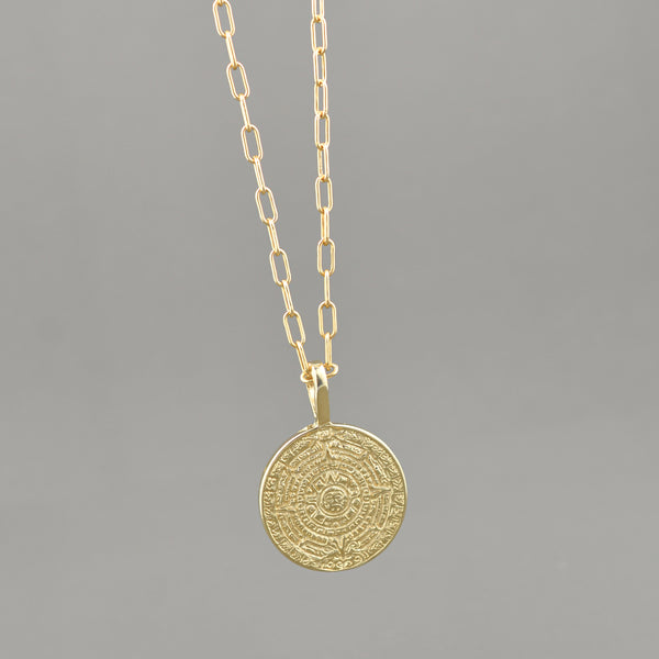 Blake Coin Necklace