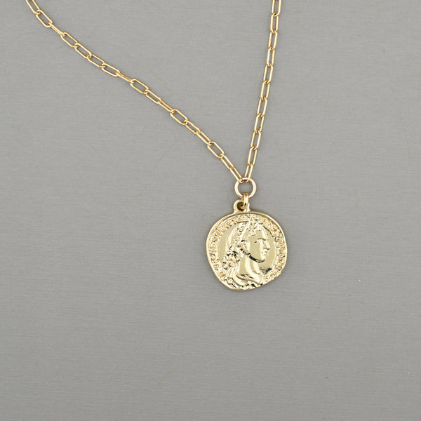 Beckett Coin Necklace