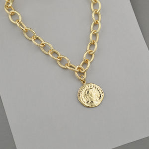 Jack Coin Necklace
