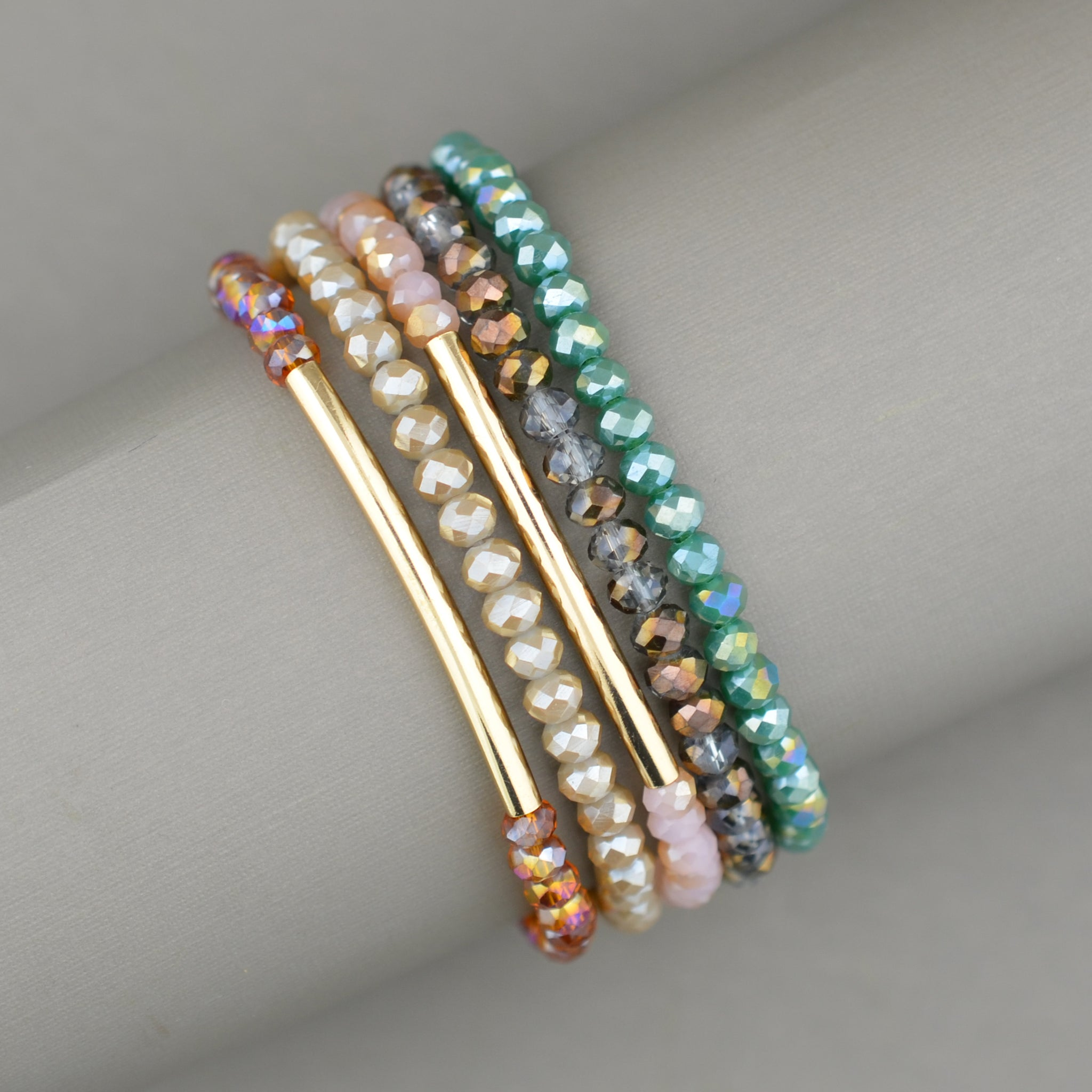 Mini Beaded Bracelet Stack