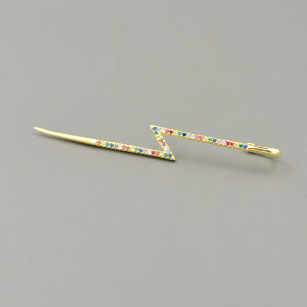 Lightening Bolt Ear Cuff