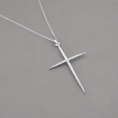 Anahi Cross Necklace