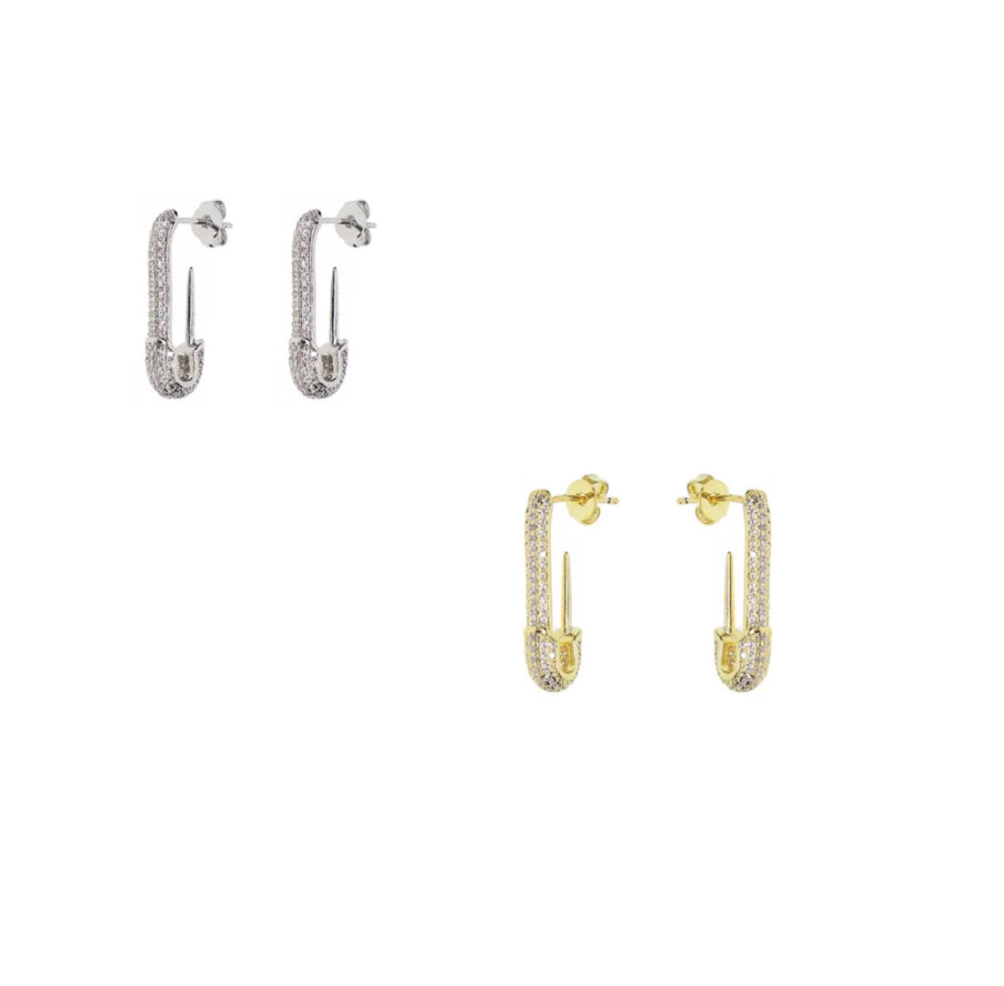Pave Safety Pins